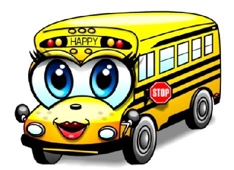 happy school bus rh happyschoolbus org Animated School Bus Clip Art School Bus Clip Art
